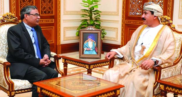 استعراض العلاقات الثنائية بين السلطنة والهند