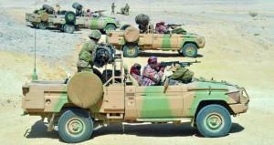 الجيش السلطاني العماني ينفذ البيان العملي لتمرين (وادي النار) مع القوات الأميركية