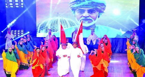 """جمعية المرأة بصلالة تنظم احتفالية وطنية بعنوان """" سلطنة وسلطان """""""