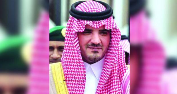وزير الداخلية بالمملكة العربية السعودية يصل السلطنة .. اليوم