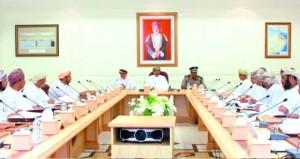 اجتماع المجلس البلدي بالبريمي