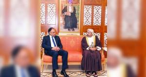 وزير الداخلية يستقبل نظيره الباكستاني