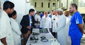 يوم مفتوح حول جراحة الكلى والمسالك البولية بمستشفى جامعة السلطان قابوس