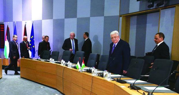 عباس يدعو دول (الأوروبي) إلى الاعتراف سريعا بفلسطين كدولة مستقلة