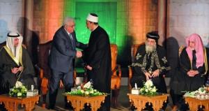 الفلسطينيون يجددون رفضهم لأي دور أميركي في عملية السلام ويدعون لـ(شد الرحال) إلى المدينة المقدسة