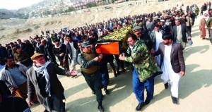 أفغانستان تعلن الحداد وارتفاع عدد ضحايا هجوم كابول إلى 103