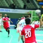في البطولة الآسيوية الـ 18 لكرة اليد بكوريا الجنوبية.. منتخبنا الوطني يخسر أمام المنتخب الكوري