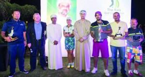 اختتام النسخة الخامسة من بطولة السيد قيس بنادي غلا للجولف