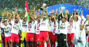 وزارة الشؤون الرياضية تحتفي بأبطال خليجي 23 بحديقة الإنتر