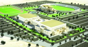 توقيع اتفاقية إنشاء المجمع الرياضي بإبراء