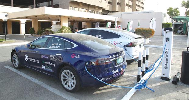 تدشين أول محطة شحن للسيارات الكهربائية