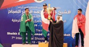 السلطنة تحصد أولى ذهبيات بطولة أمير الكويت المفتوحة للرماية