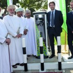 الاحتفال بتدشين أول محطة شحن للسيارات الكهربائية في السلطنة