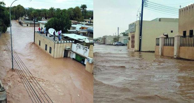 أهالي الدريز بعبري يطالبون بالإسراع في إقامة سد حماية من فيضانات مياه شعبة البلدة إلى بيوتهم وممتلكاتهم