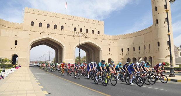براين كوكار يتوج بلقب المرحلة الأولى من (طواف عمان)