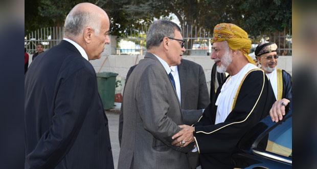 في مستهل زيارة ابن علوي .. الفلسطينيون يثمنون موقف السلطنة ومبادراتها الإنسانية