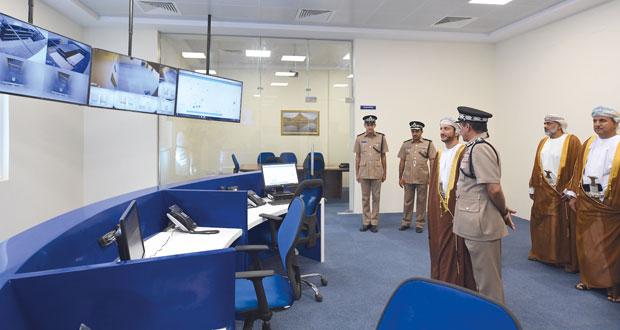 افتتاح مركز شرطة محضة ومبنى الخدمات