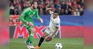 دي خيا ينقذ مانشستر يونايتد من الهزيمة وشاختار يقلب تأخره إلى فوز ضيق على روما في دوري أبطال أوروبا