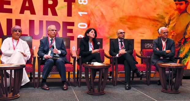 افتتاح أعمال مؤتمر الجمعية العمانية لطب القلب حول القصور في عضلة القلب