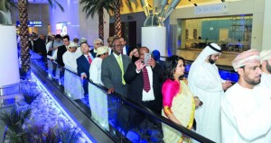 رؤساء البعثات الدبلوماسية والقنصلية ومكاتب الأمم المتحدة لدى السلطنة يزورون مطار مسقط الدولي الجديد