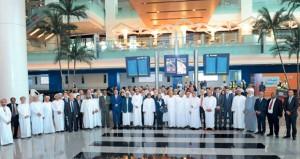 رؤساء البعثات الدبلوماسية في السلطنة يزورون مطار مسقط الجديد