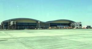 تسارع الأعمال الإنشائية في مطار الدقم.. والإنجاز بمنتصف العام الجاري