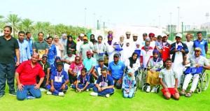 فريق تعاون بمؤسسة الزبير يشارك في ملتقى عمان لألعاب القوى للأشخاص ذوي الإعاقة