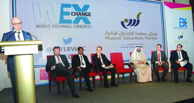 مؤتمر البورصات العالمي يسـتعرض دور أسـواق المال في تعزيز الابتكار ودعم المشـاريع الاقتصادية المسـتقبلية