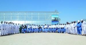 """أعضاء مجلس الدولة يقفون على تجهيزات مشروعي """"مستنقعات القصب الاصطناعية"""" و""""مرآة"""" التابعين لـ""""تنمية نفط عمان"""""""