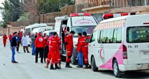 سوريا: مع سيطرة الجيش على (حوش الضواهرة) .. المسلحون يجددون استهداف الممر الإنساني في الغوطة الشرقية