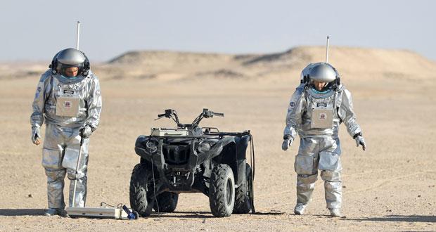 تواصل البحوث في مرمول لمحاكاة ظروف الحياة على المريخ