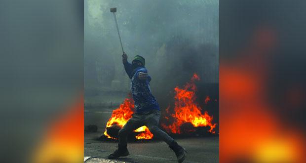 عشرات الجرحى الفلسطينيين بقمع قوات الاحتلال مسيرات الضفة المحتلة وغزة