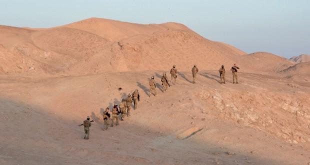 العراق يطلق عملية عسكرية ضد (داعش) في المناطق الصحراوية