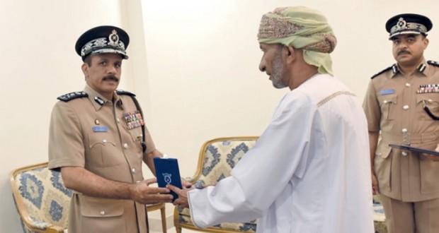 وسام الشجاعة لـ «سعود بن سعيد الرواحي»
