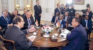 محادثات مصرية سودانية رفيعة المستوى بالقاهرة