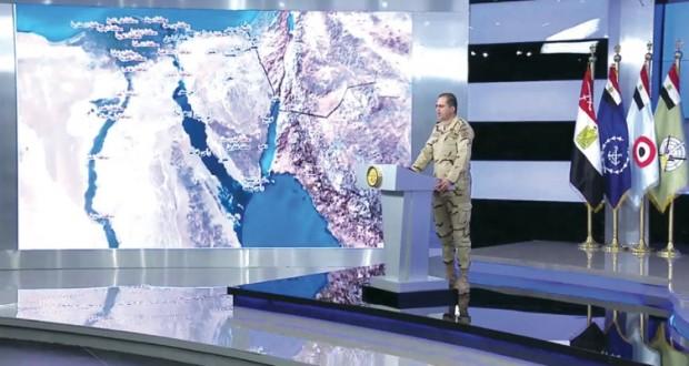 مصر تدشن عملية عسكرية كبيرة في سيناء والدلتا والظهير الصحراوي
