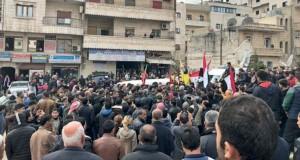 سوريا: القوات الشعبية تنتشر على الخطوط الأمامية في عفرين