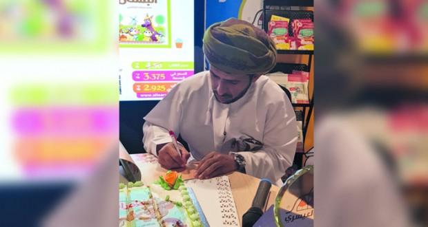 """المضمر حمد الوهيبي يدشن المجموعة القصصية """"مغامرات راعي فرحة"""" لعبدالله العيسري"""