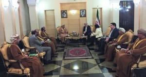 وزير السـياحة يلتقي مسـاعد رئيس الجمهورية الإسـلامية الإيرانية