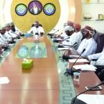 أعضاء مجلسي الشورى والبلدي بالظاهرة يناقشون التحديات الاقتصادية التي تواجه أصحاب الأعمال