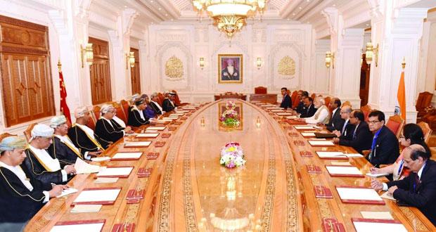 السلطنة والهند تتفقان على الارتقاء بالشراكة الاستراتيجية .. ومودي يغادر
