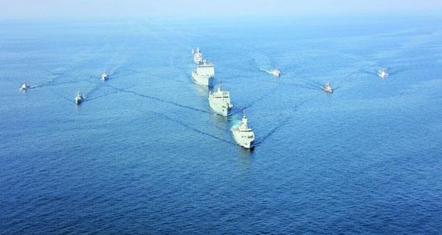 تواصل فعاليات التمرين البحري خنجر حاد