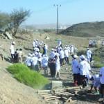 «أوربك» تدشن الحملة التطوعية التوعوية «بيئة بلا نفايات» بالجفنين