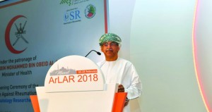 بدء أعمال مؤتمر الرابطة العربية ضد أمراض الروماتيزم