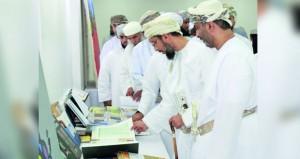 افتتاح معرض (رسالة الإسلام) بكلية التربية الرستاق