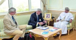 وزير الصحة يستقبل الرئيس الإقليمي بمقاطعة نورماندي الفرنسية