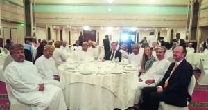 اللقاء الثالث لجمعية المحامين العمانية ـ البريطانية