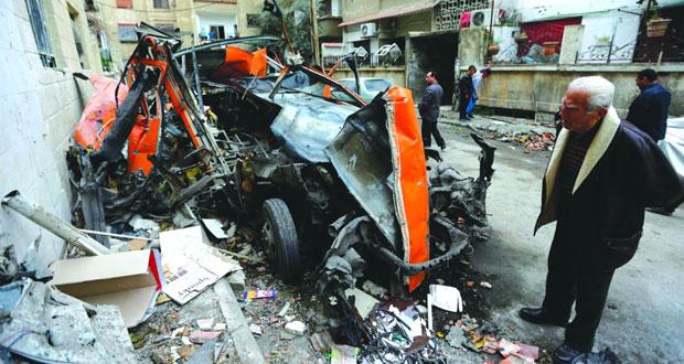 سوريا تحذر كل من يعتدي عليها بمصير الطائرة الإسرائيلية