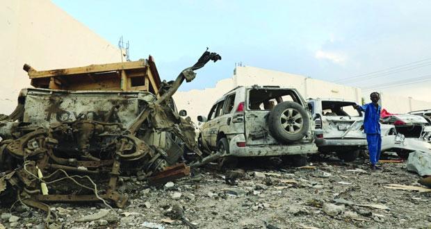الصومال: هجمات انتحارية بمقديشو تسقط أكثر من 60 بين قتيل وجريح