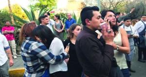 زلزال عنيف يضرب المكسيك .. ونجاة وزير الداخلية